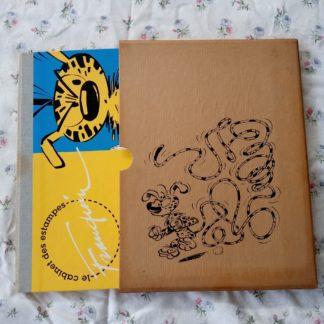 "Portfolio ""cabinet des estampes"" - Marsupilami + pochette"
