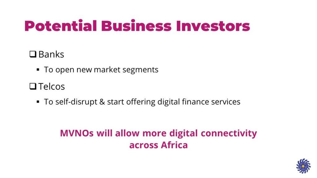 MVNO business investors