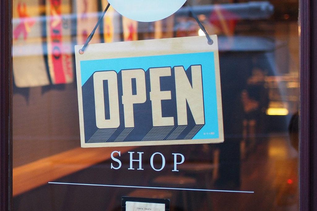Boutique ouverte !