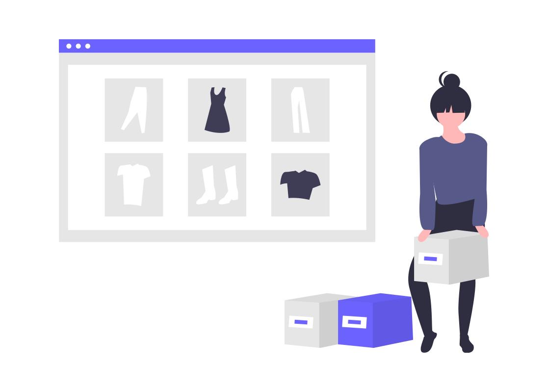 Web Shopping - boutique en ligne
